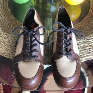 Light Brown & Brown Causal Prada Sneakers